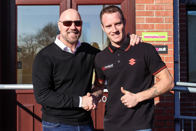 halsall and bridewell reunited for 2018 bsb campaign